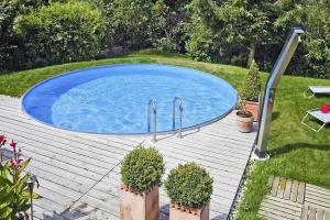 Сборный бассейн Summer Fun 4501010170KB круглый 350х150 см