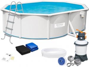 Бассейн каркасный со стальными стенками BestWay Hydrium Pools - 56586 500х360х120 см