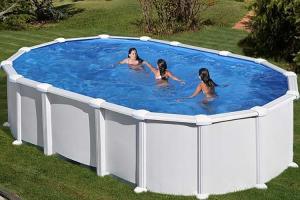 Каркасный бассейн GRE PR6188MAG овальный 610x375x132 см
