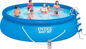 Надувной бассейн Intex 26166 457x107 Easy Set