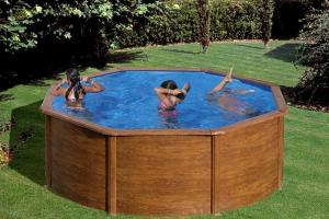 Круглый каркасный бассейн 350х120 см PACIFIC GRE P350W