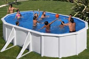 Каркасный бассейн GRE PR618MAG овальный 610x375x132 см